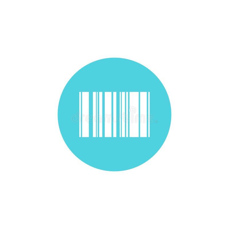 Akcyjny wektorowy barcode 8 royalty ilustracja