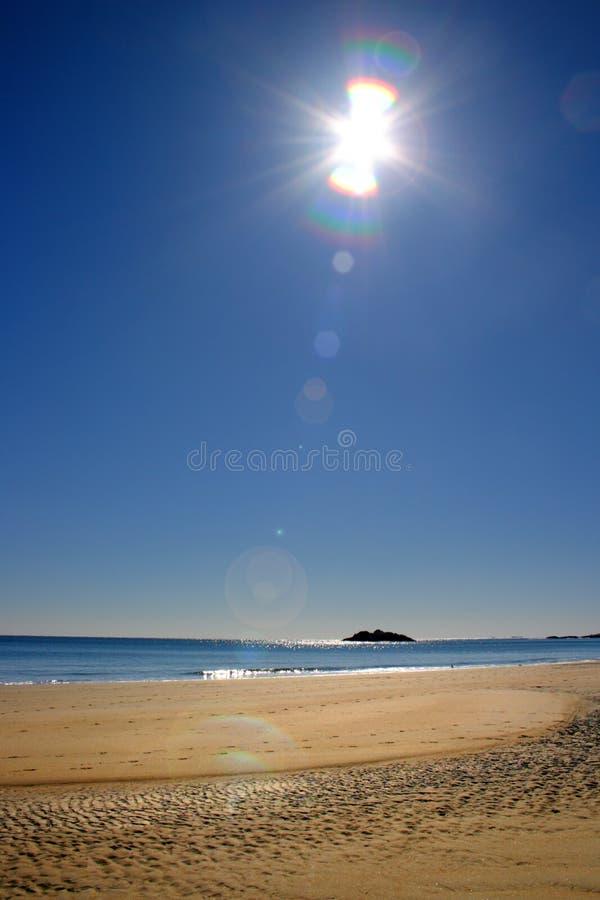 Akcyjny wizerunek śpiew plaża obraz stock