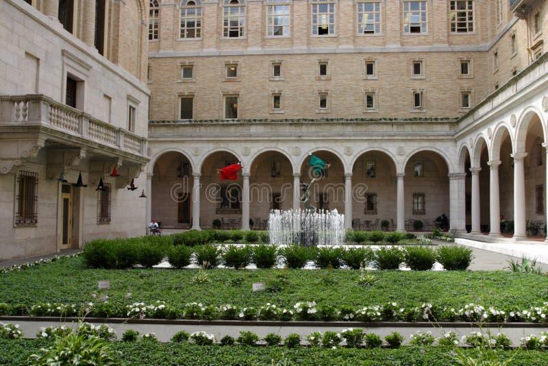 Akcyjny wizerunek Boston biblioteka publiczna, Boston zdjęcia royalty free