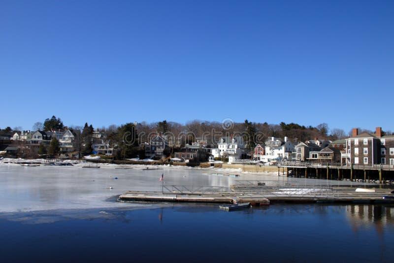 Akcyjny wizerunek morze, Massachusetts, usa obraz stock