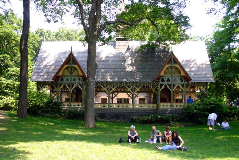Akcyjny wizerunek Nowy Jork central park, usa fotografia stock