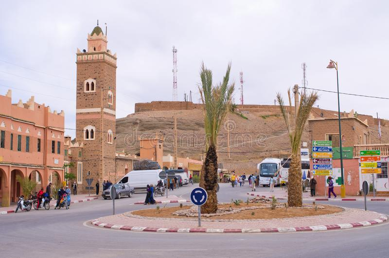 Akdaz在摩洛哥 免版税库存图片