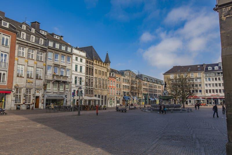 Aken, Duitsland royalty-vrije stock afbeelding