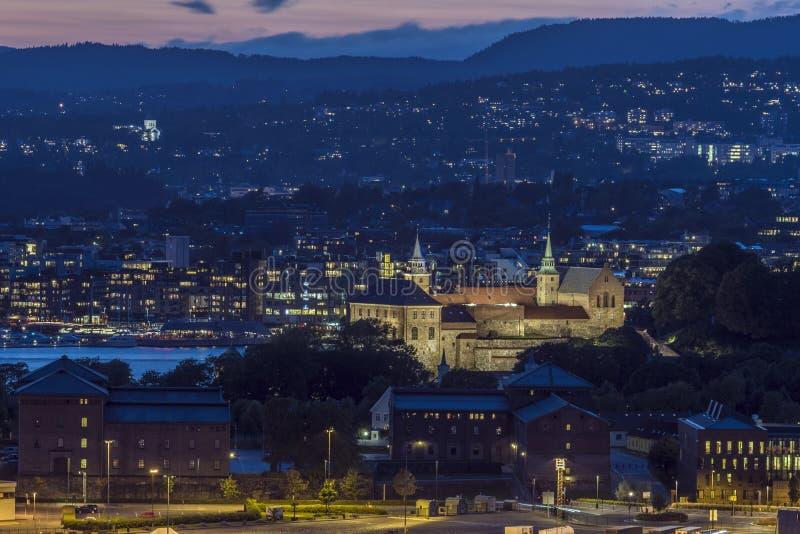 akershus城堡奥斯陆 免版税图库摄影