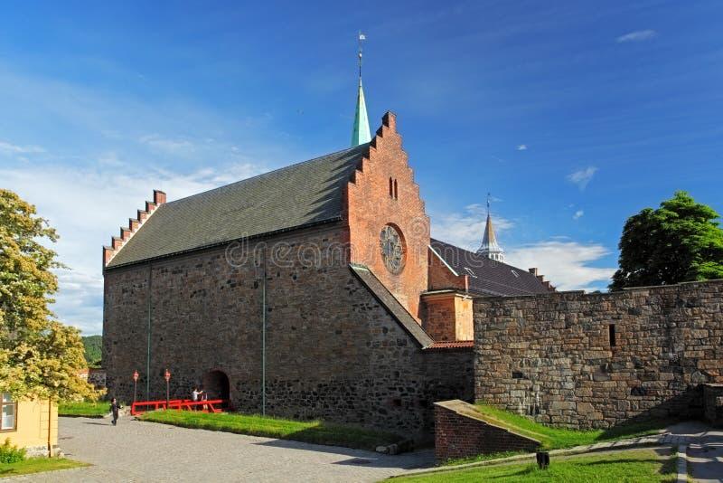 akershus城堡奥斯陆 库存图片