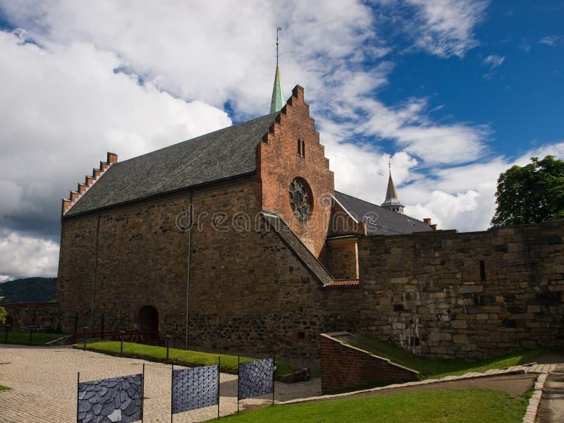 akershus城堡挪威奥斯陆 库存图片