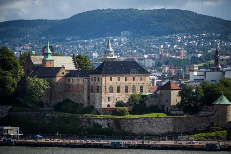Akershus城堡 免版税库存图片