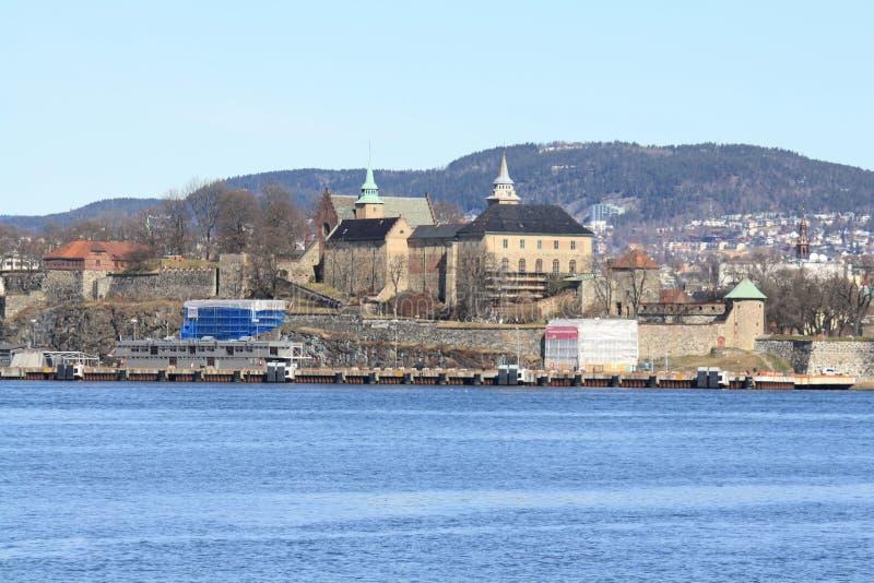 Akershus Festning/fortaleza fotografia de stock royalty free