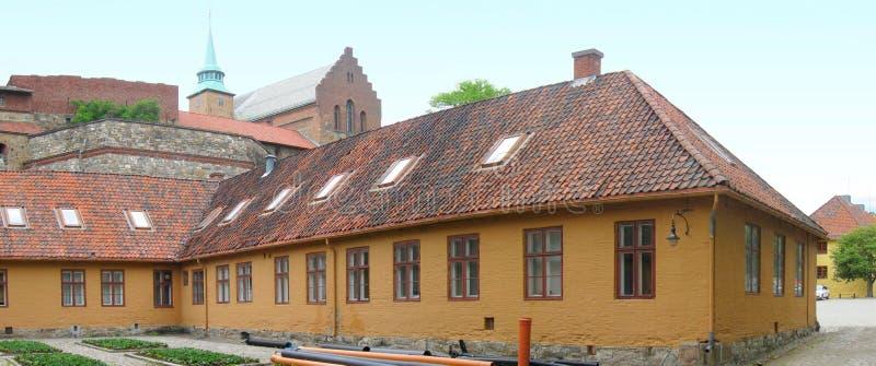 Akershus Festung lizenzfreie stockfotos