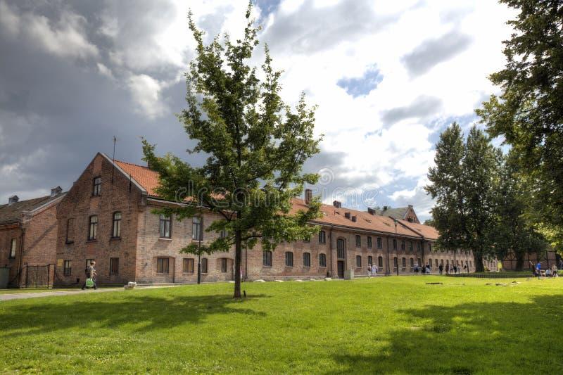 Akershus Festung (HDR) lizenzfreie stockfotos