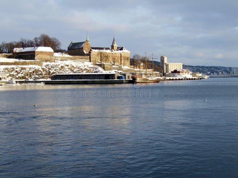 Akershus Festung, Oslo lizenzfreie stockbilder