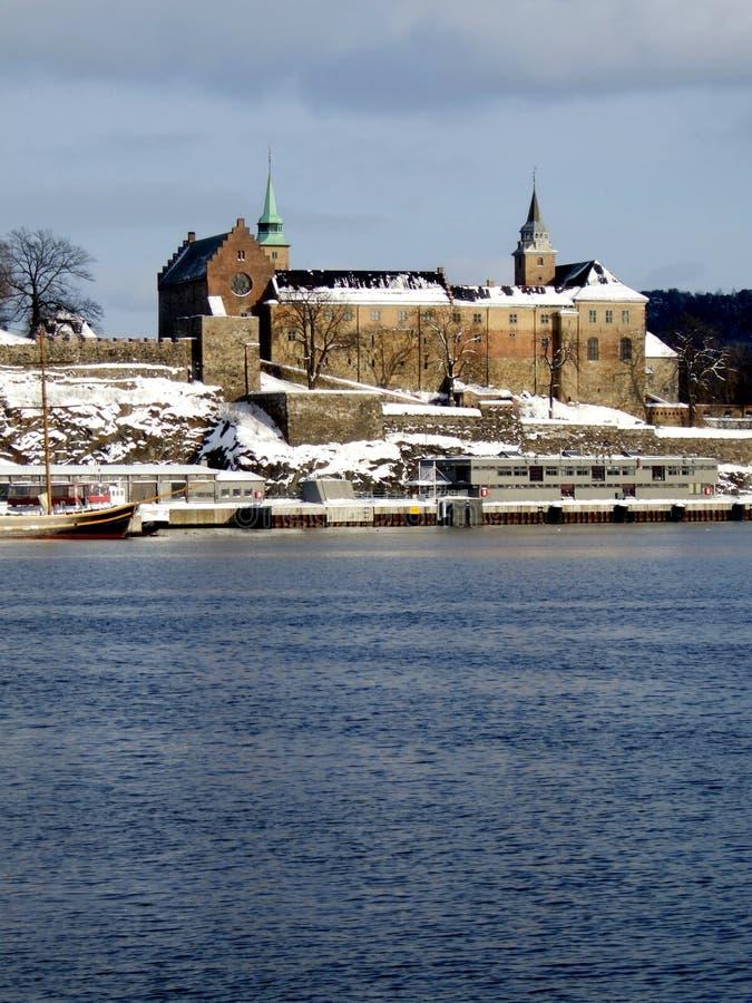 Akershus Festung, Oslo stockbilder