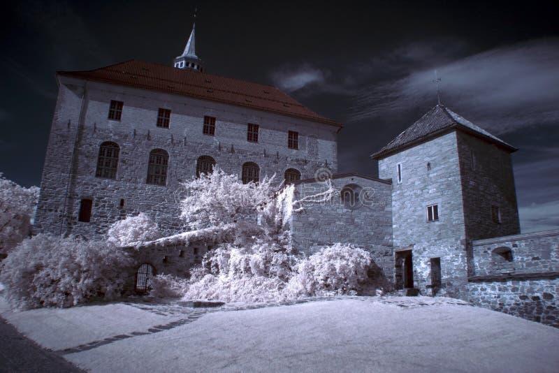 Akershus-Festung in Oslo stockfoto