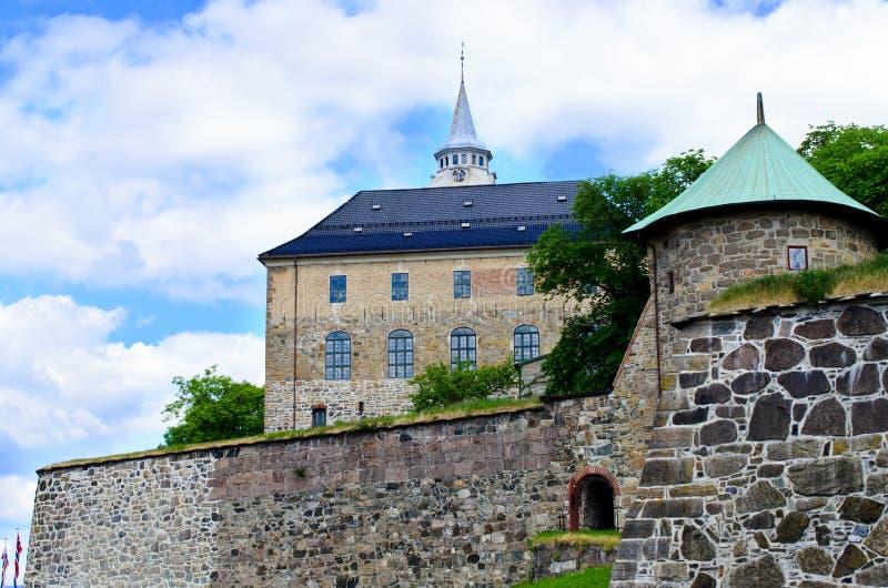 Akershus Forteca fotografia stock