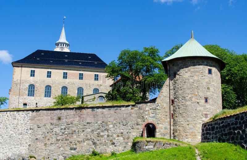 Akershus kasztel zdjęcia royalty free