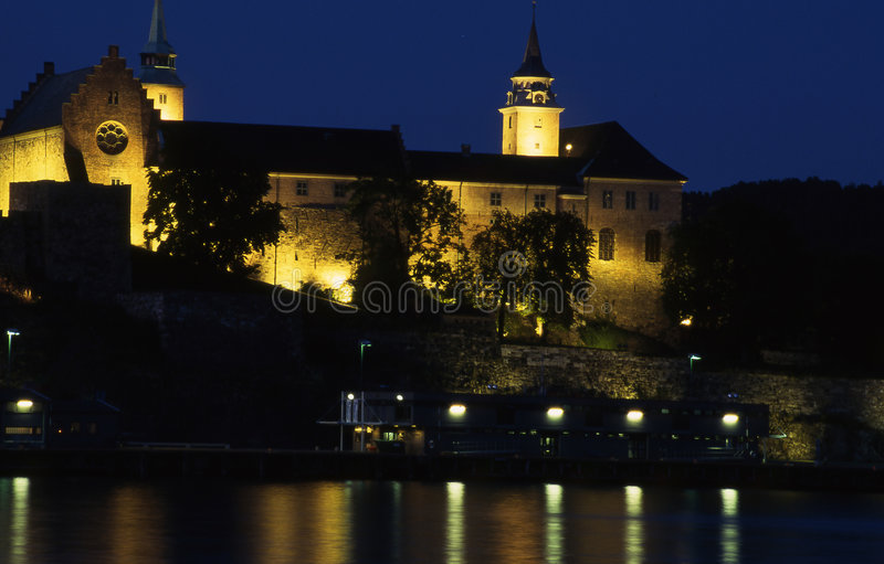 Download Akershus oslo stock image. Image of norway, scene, chateau - 194571