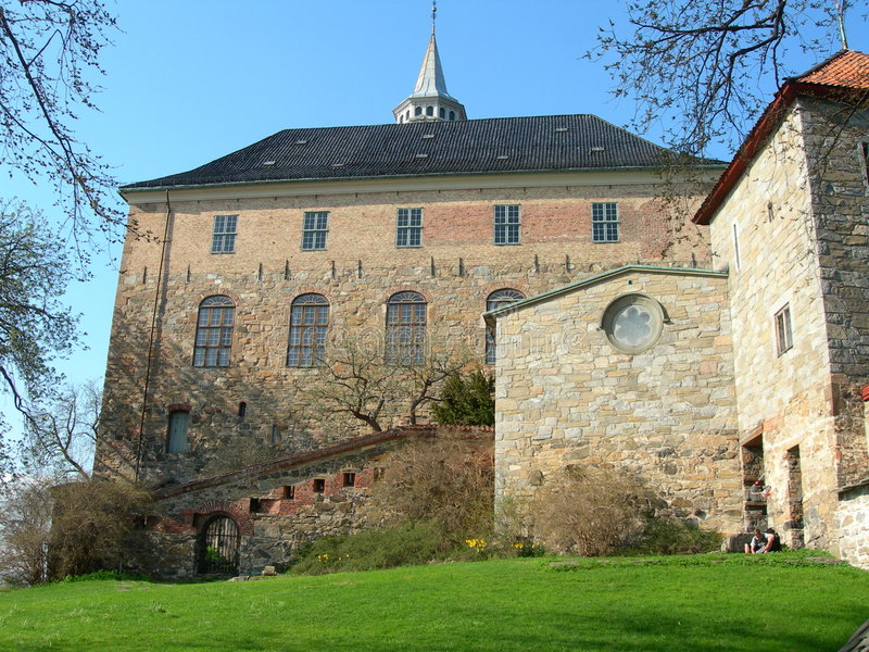 Akershus Oslo stockfotografie