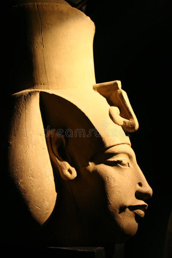 Akhenaton stockbilder