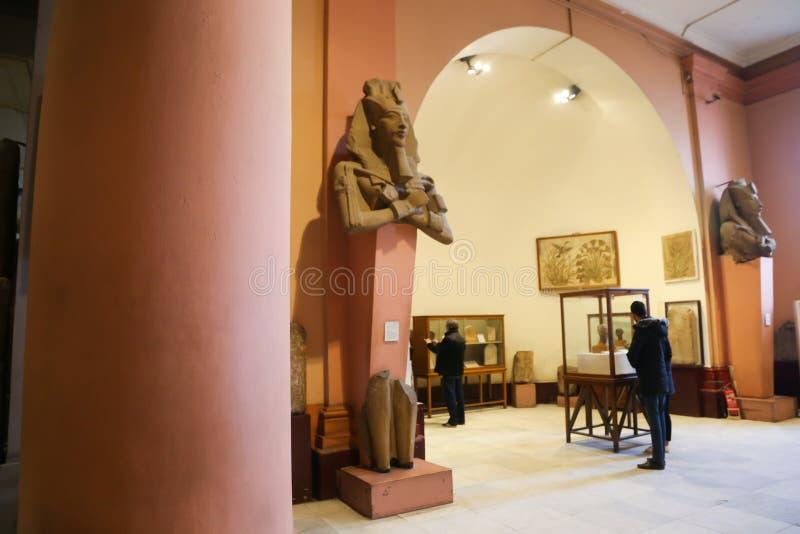 Akhnaten Hall - Kairomuseum fotografering för bildbyråer
