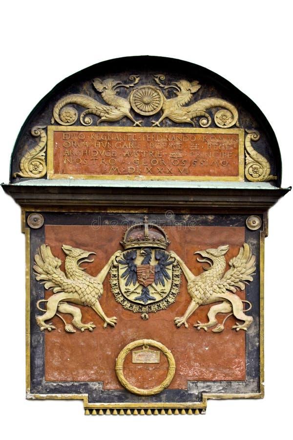 Żakiet ręki Ferdinand Ja jako królewiątko Romans fotografia stock