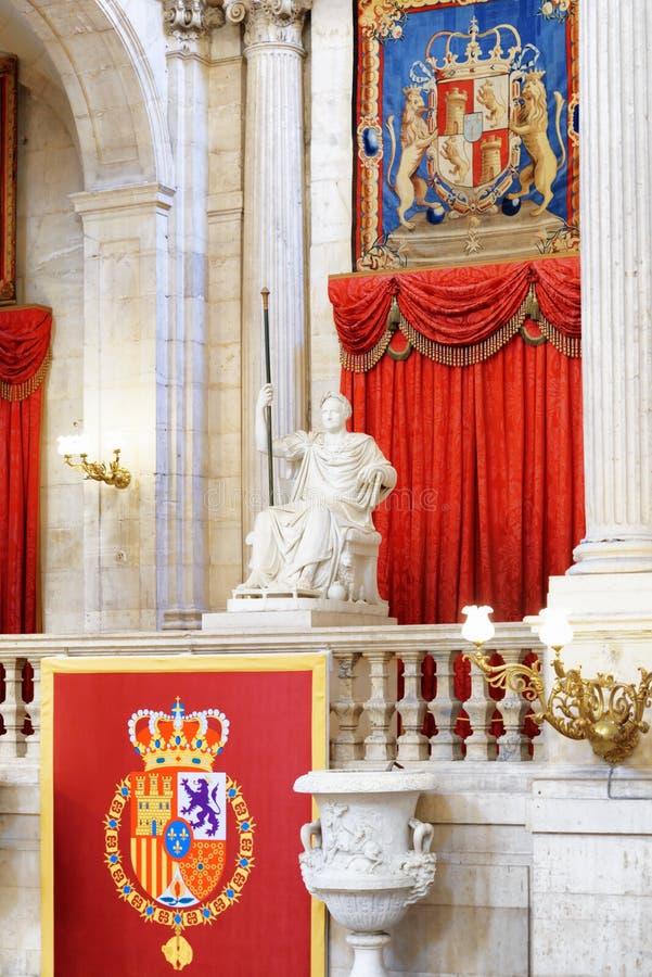 Żakiet ręki królewiątko Hiszpania i rzeźba w int obrazy royalty free