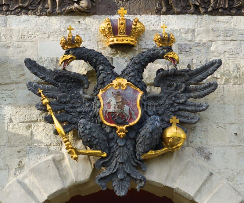 Żakiet ręki Rosyjski imperium zdjęcia stock
