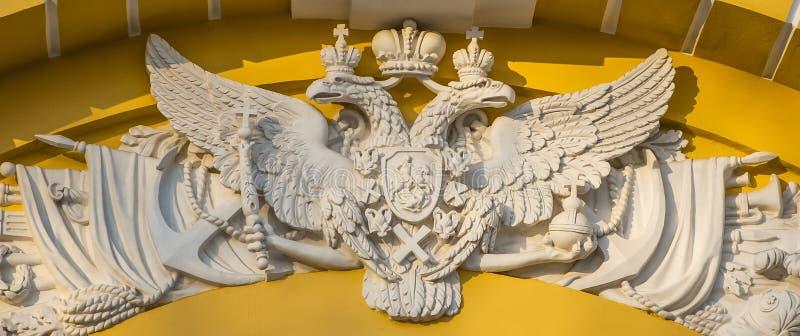 Żakiet ręki Rosyjski imperium zdjęcie stock