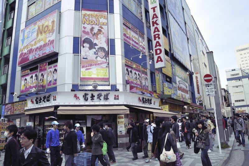 Download Akihabara Crowds Editorial Stock Image - Image: 20748354