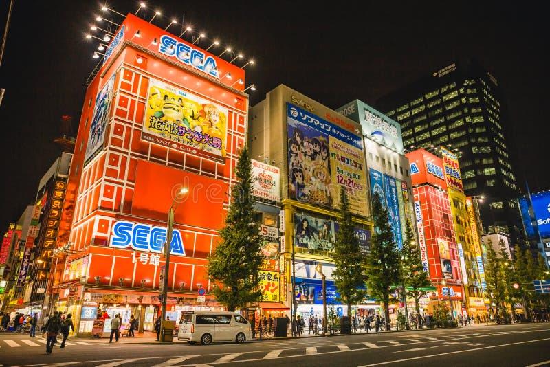 Akihabara fotografia royalty free