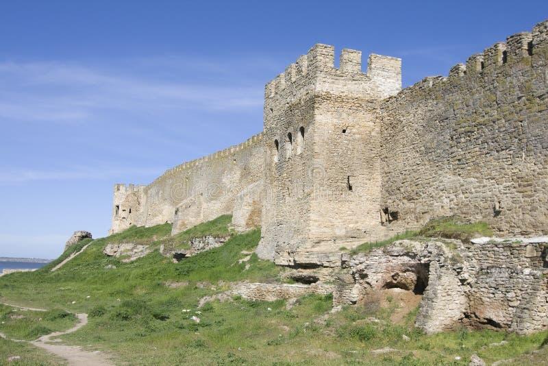 Akkerman fortress in Ukraine. Medieval Akkerman fortress near Odessa in Ukraine royalty free stock photo