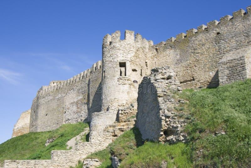 Akkerman fortress in Ukraine. Medieval Akkerman fortress near Odessa in Ukraine royalty free stock photography