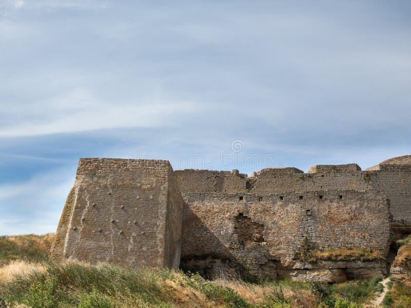 Akkerman fortress in Ukraine. Akkerman Bilhorod-Dnistrovskyi fortress in Ukraine. Medieval castle stock photos