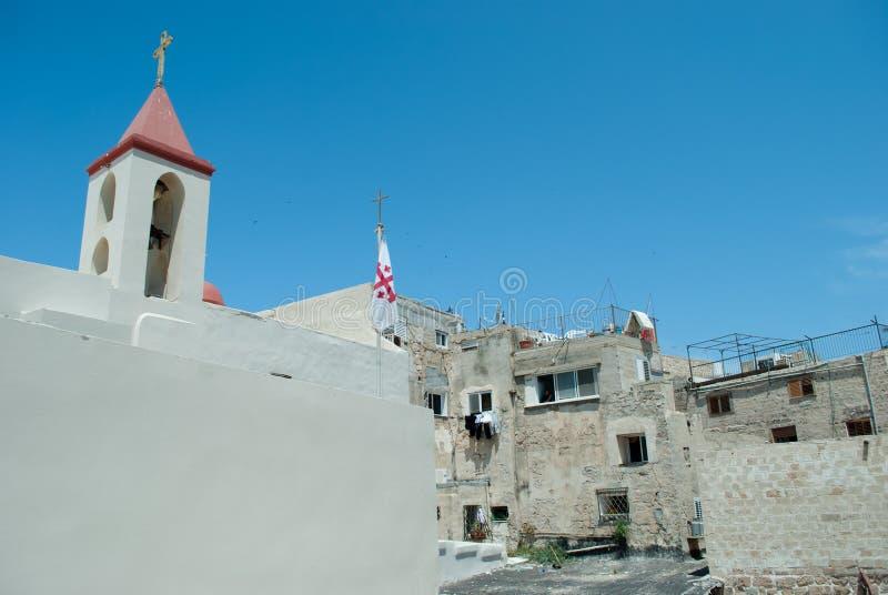 akko Ισραήλ στρέμματος στοκ φωτογραφία με δικαίωμα ελεύθερης χρήσης