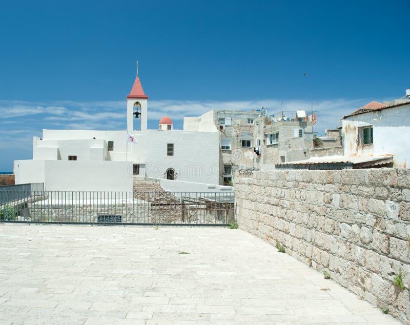 Akko (Acre), Israël stock fotografie
