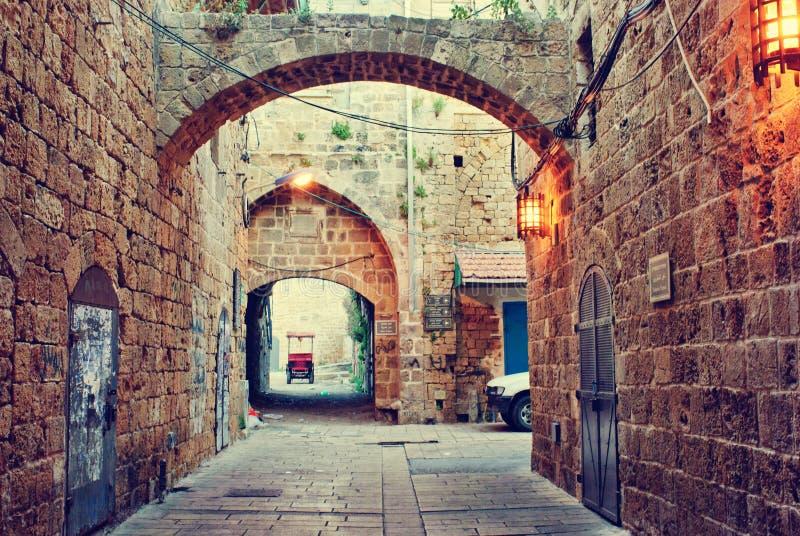 Akko (Morgen), Israel stockbild