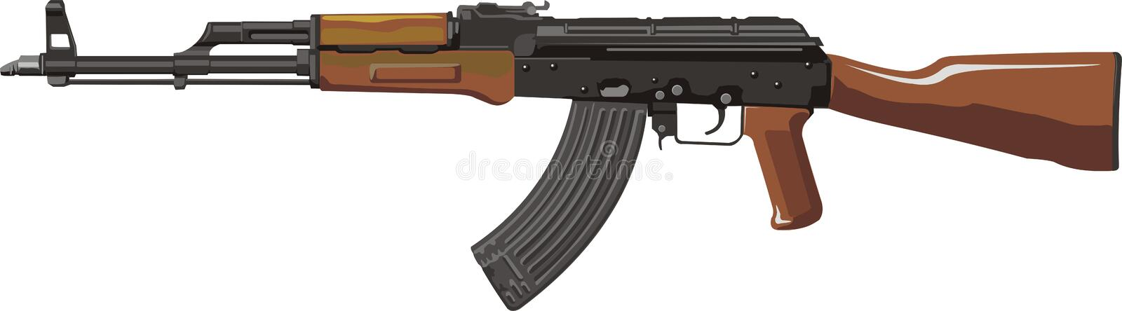 AKM illustrazione di stock