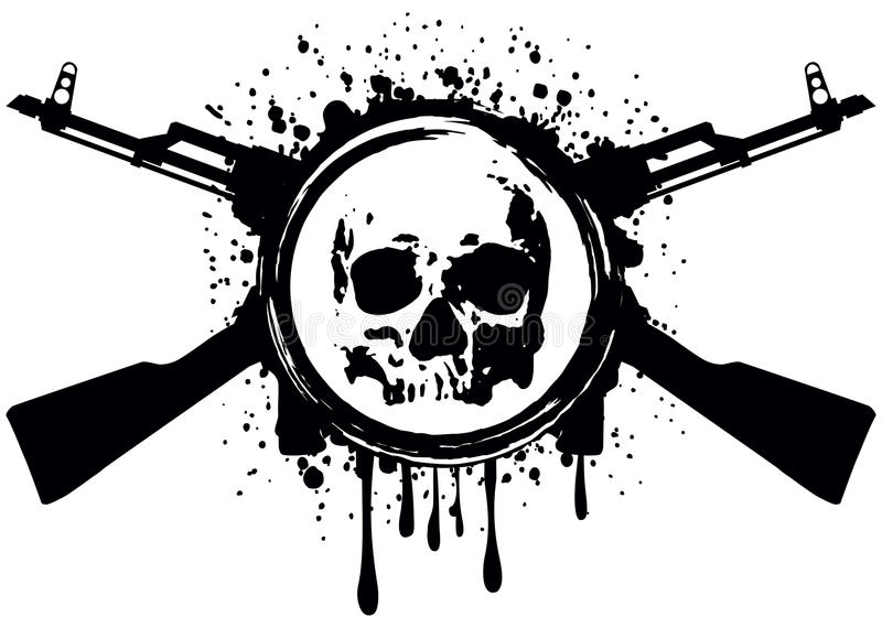 Akm del cráneo libre illustration