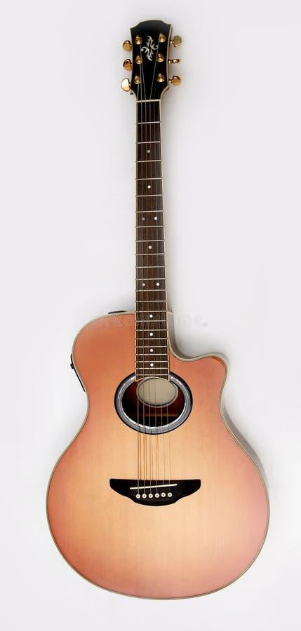 Akoestische gitaar royalty-vrije stock foto