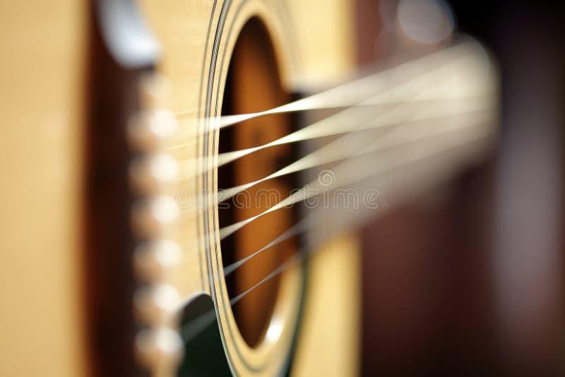 Akoestische gitaarsamenvatting royalty-vrije stock afbeeldingen