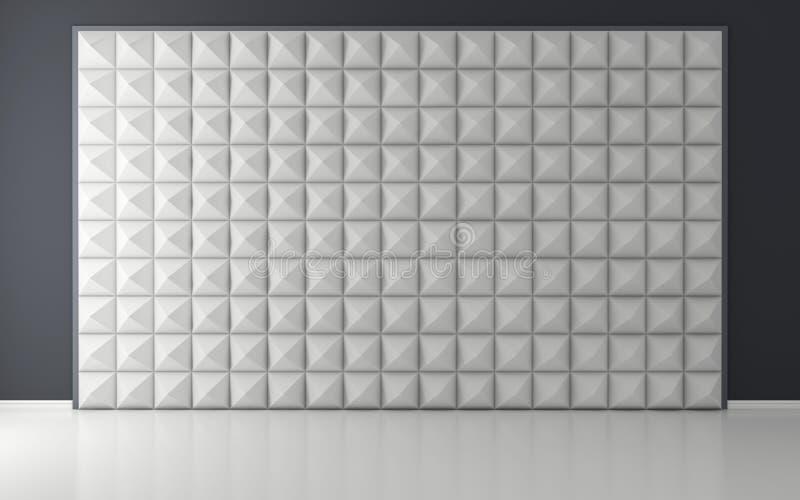 Akoestische ruimte stock illustratie