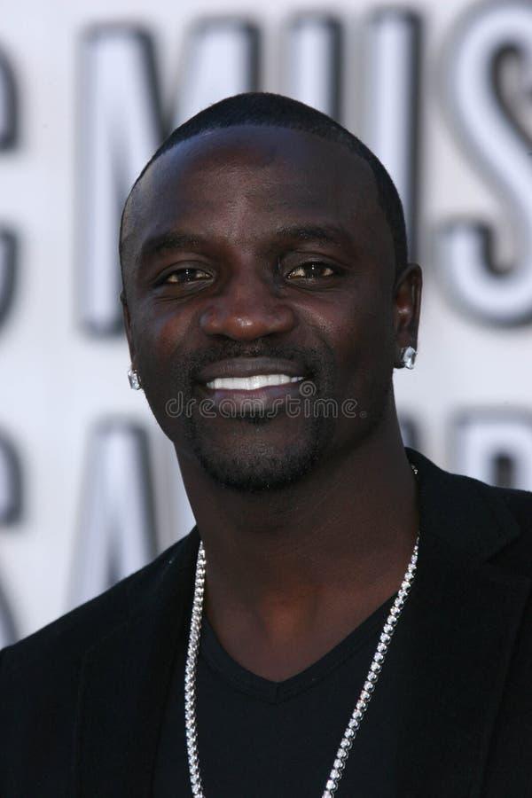 Akon royaltyfri fotografi