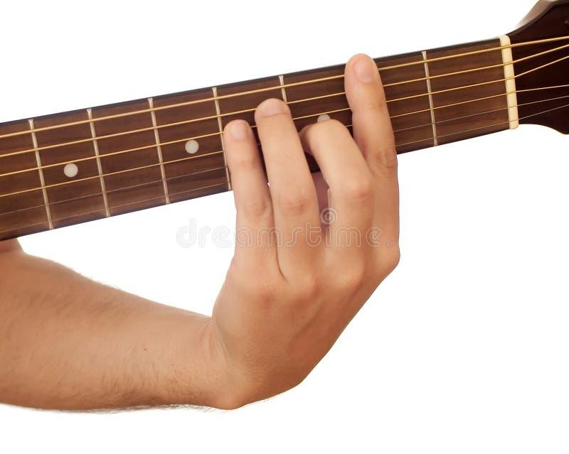 akord gitara obrazy stock