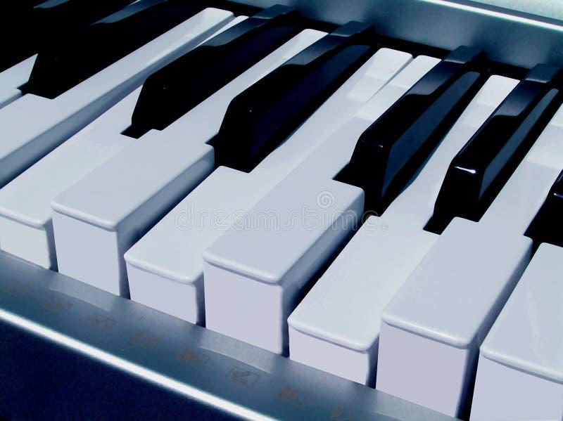 akordy na pianinie zdjęcie stock