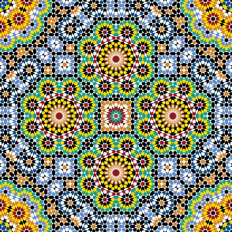 Akram Morocco Pattern Four libre illustration