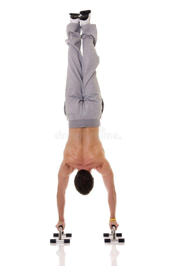 akrobat royaltyfri bild