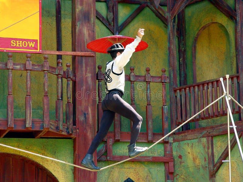 akrobat arkivfoto