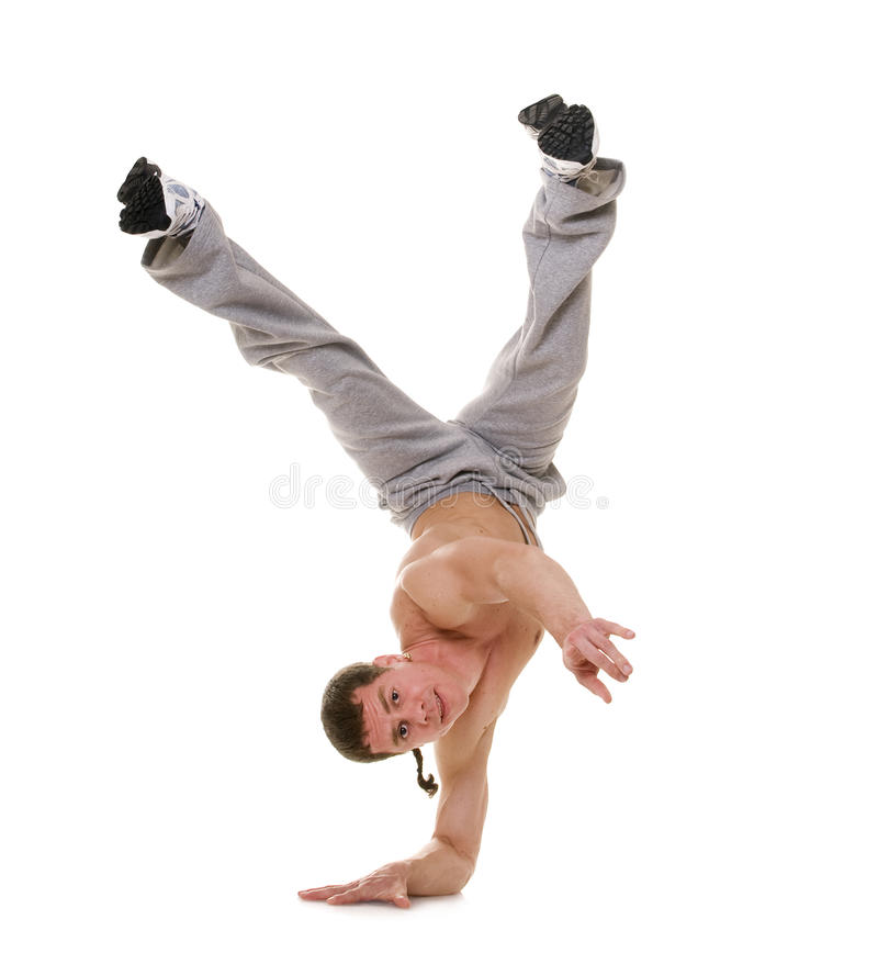 akrobata obraz stock