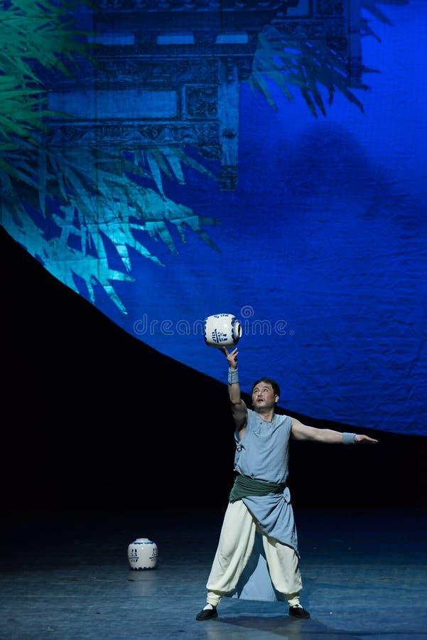 akrobatyczna showBaixi sen noc obraz royalty free