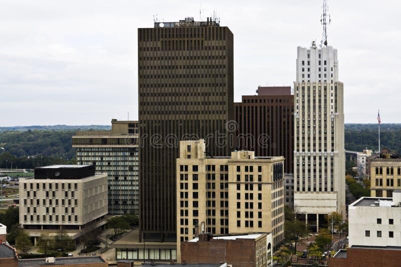 Akron Ohio image libre de droits