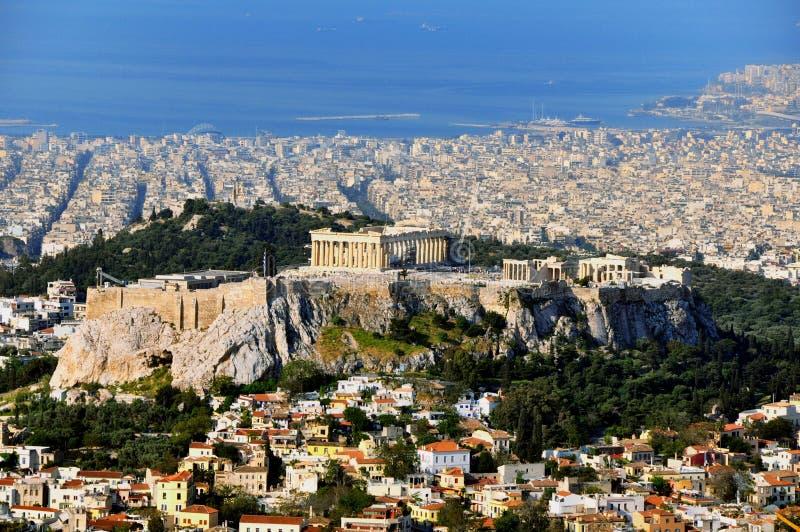 Akropol fotografering för bildbyråer